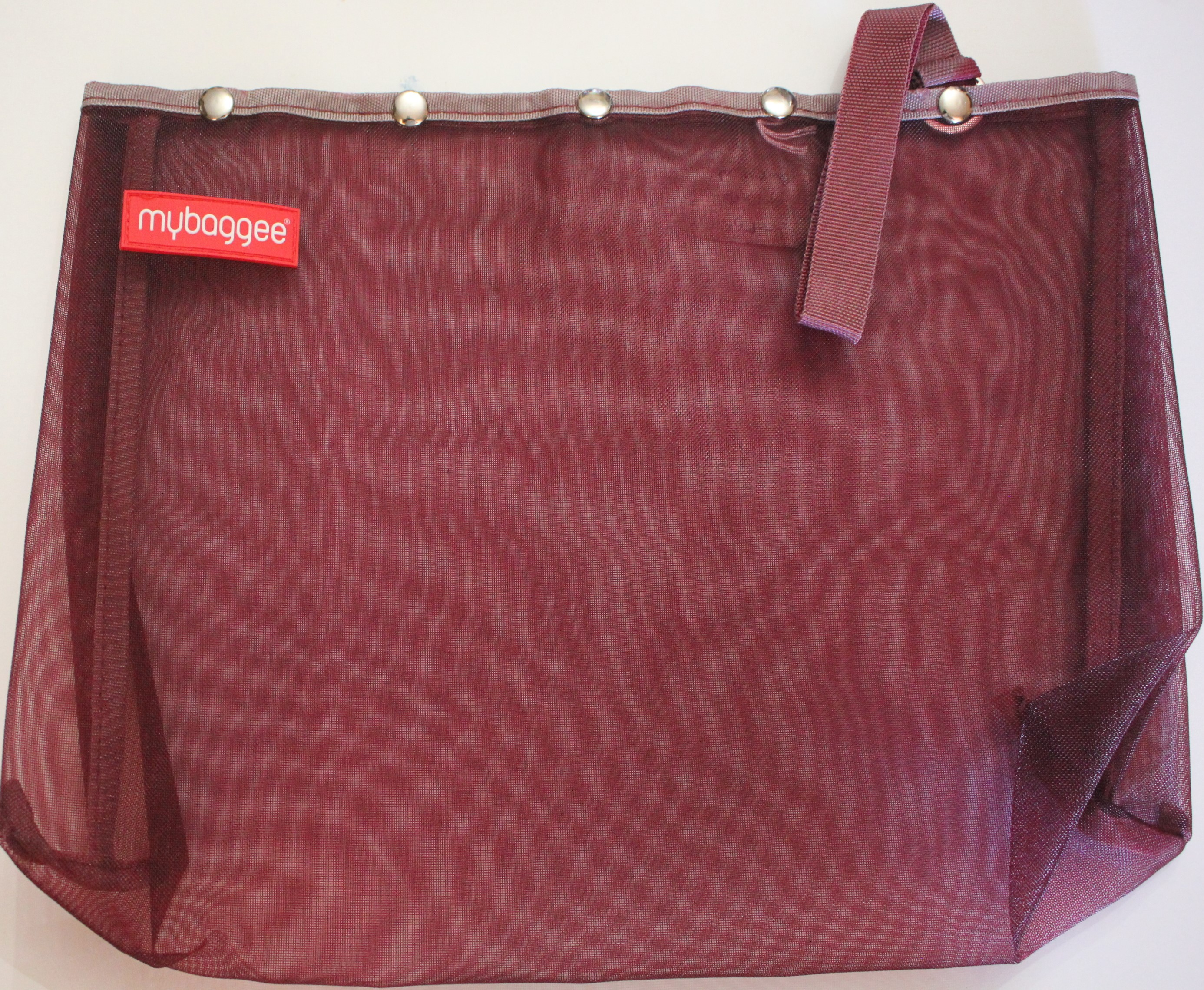 Mybaggee Large Burgundy 11x14.5 in