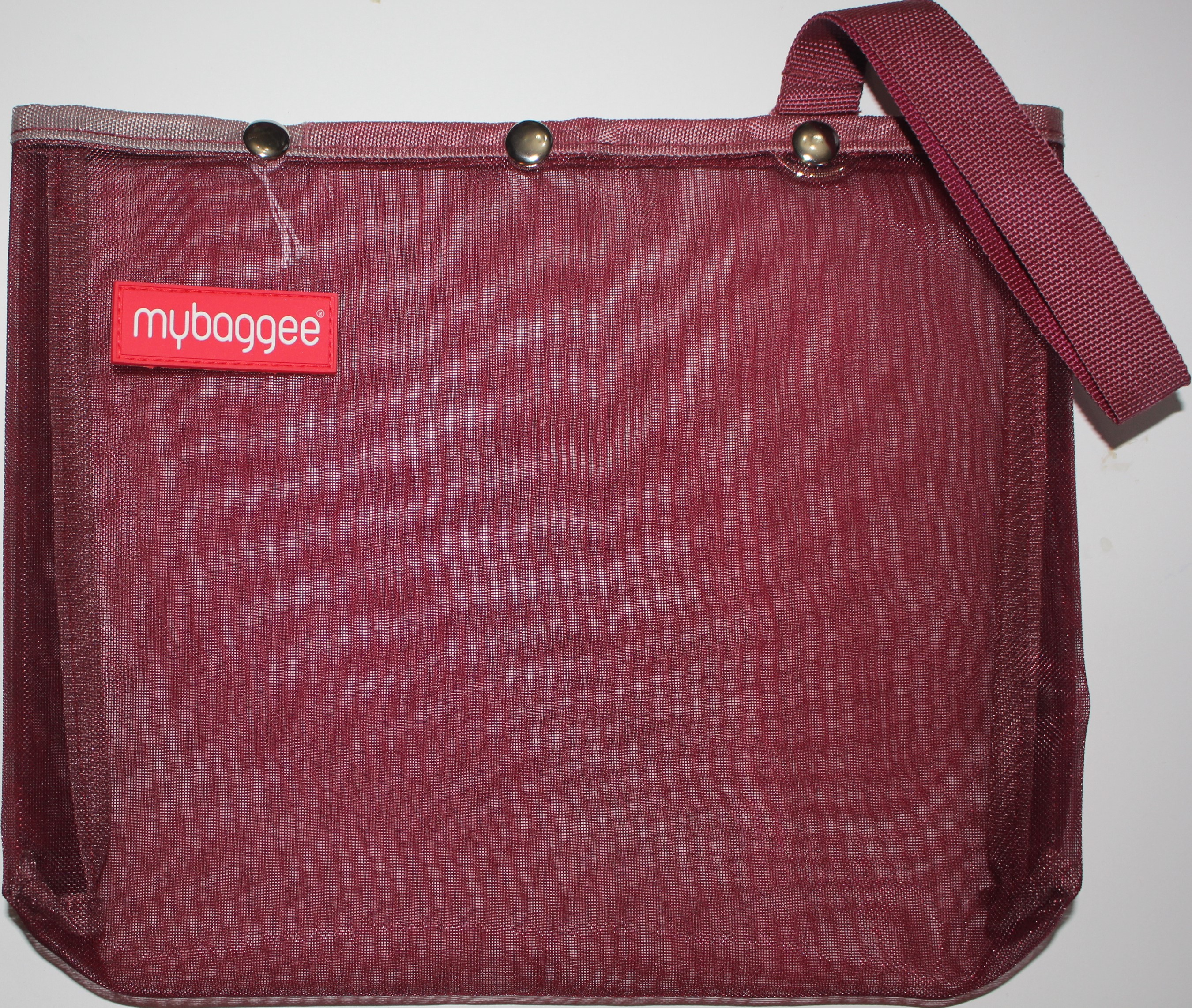 Mybaggee Small Burgundy 8x10 in
